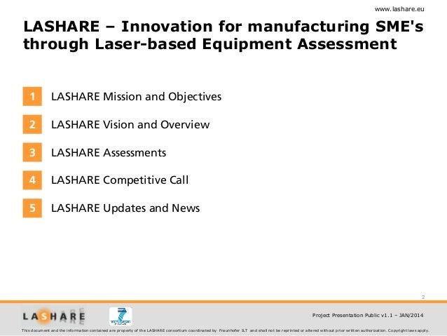 Lashare Project Presentation Slide 2