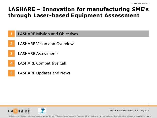 Lashare Project Presentation Slide 3