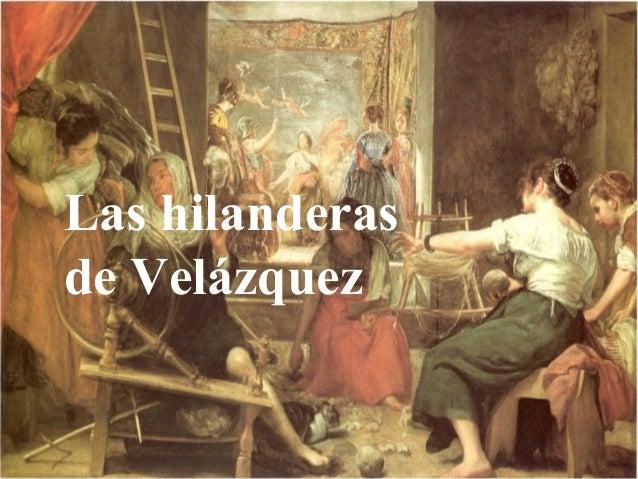 Las hilanderas, de Diego Velázquez