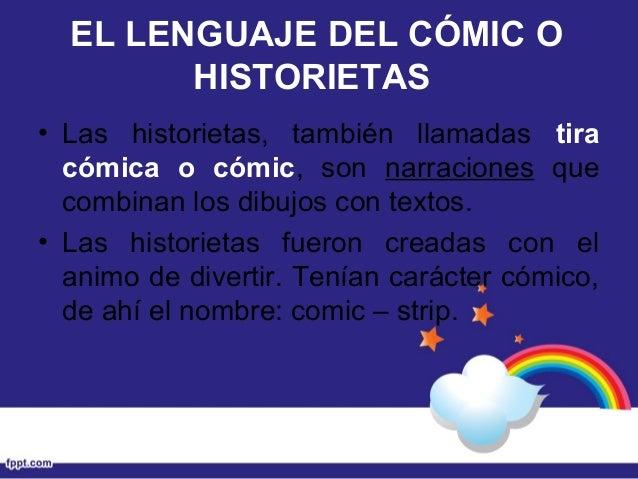 LA HISTORIETA (Un texto narrativo) Slide 3