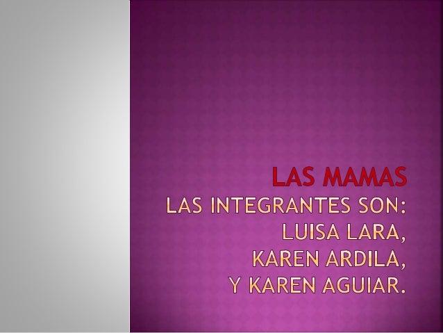  Ana Vesga: Una mujer trabajadora, servicial, compasiva de amor e interés en sus hijos.  Alcira Wilches: Una mujer traba...