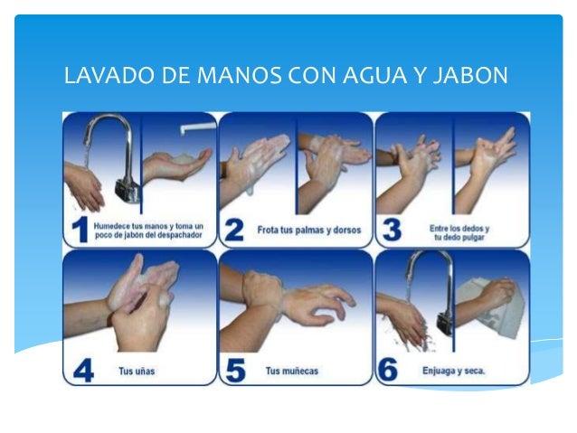 Las manos limpias salvan vidas for Lavado de manos en la cocina