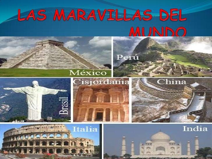 LAS MARAVILLAS DEL MUNDO<br />