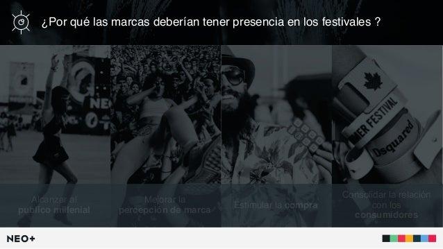 Las marcas en los festivales de música en 2017 Slide 3
