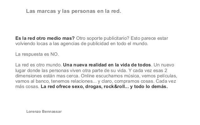 Las marcas y www (what, when, where) Slide 2