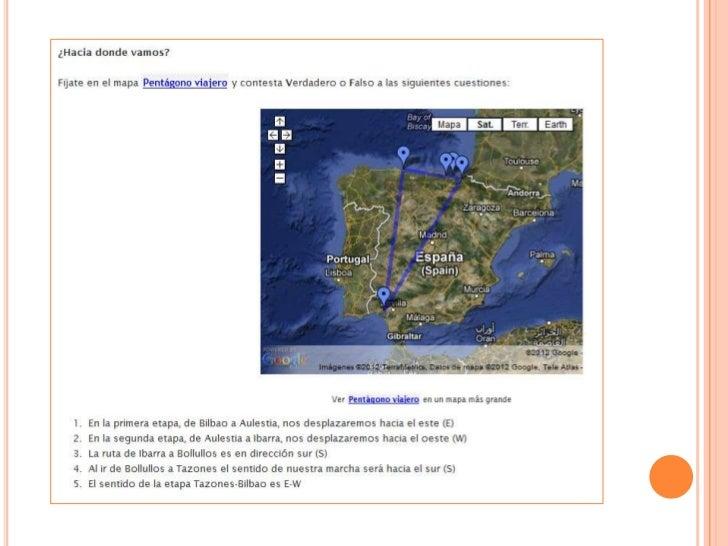 Las matematicas del viaje - Trabajo por proyectos (PBL)