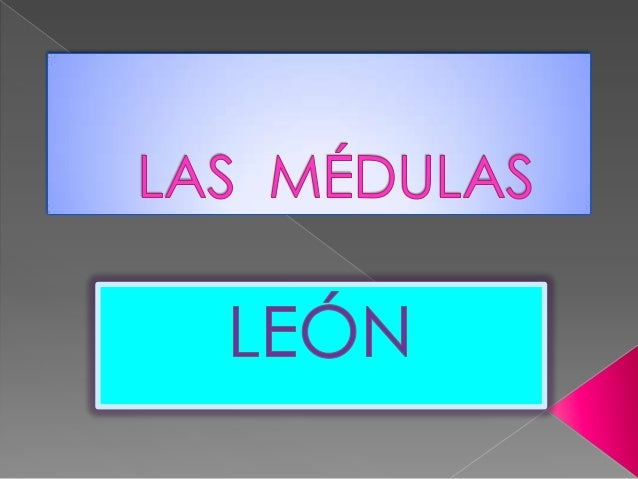 LAS MÉDULAS EN EL BIERZO