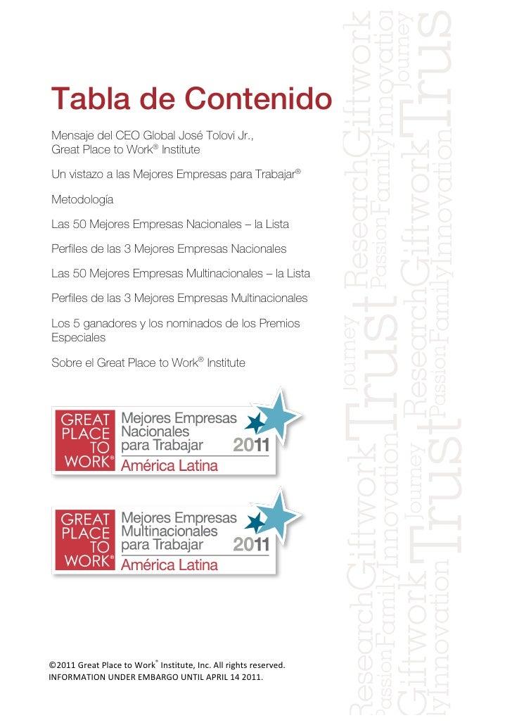 Las mejores empresas_para_trabajar_latam_2011_report__final_march_18 Slide 2