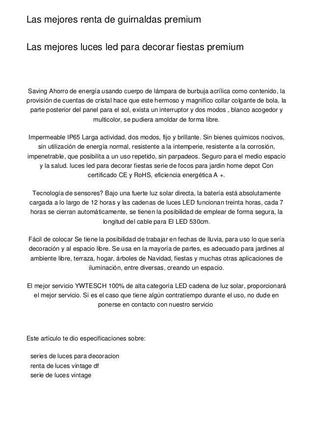 Las Mejores Renta De Guirnaldas Premium
