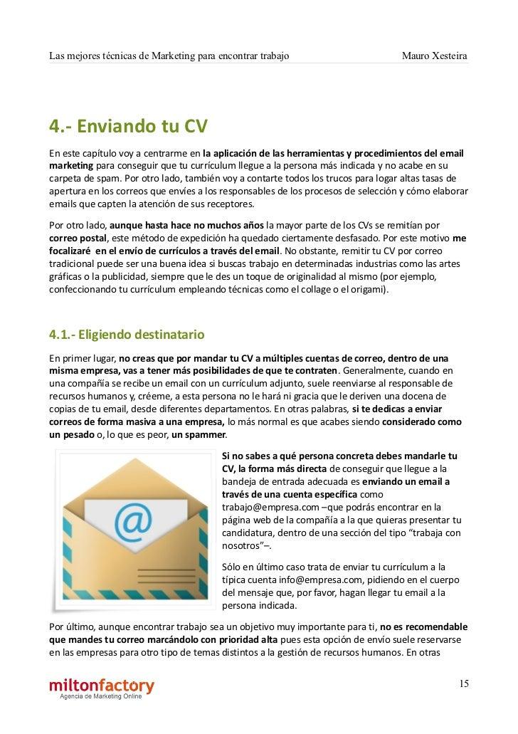 Contemporáneo Cuando Envíe Un Currículum Por Correo Electrónico, Qué ...