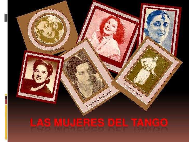 Las mujeres del tango<br />