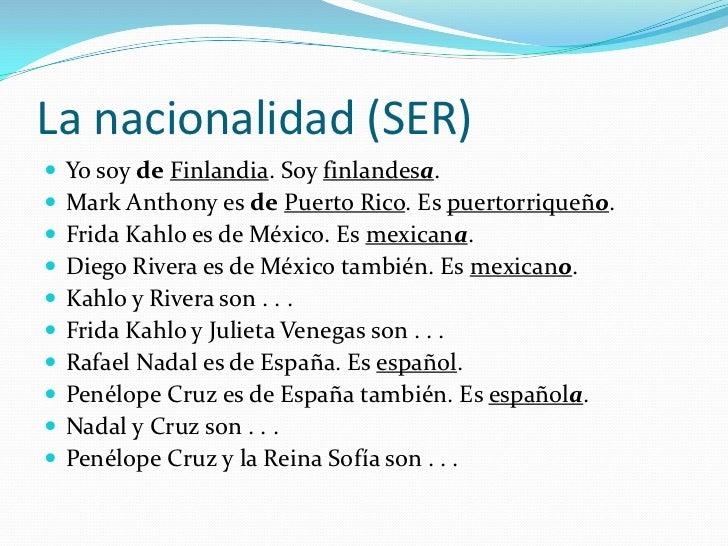 Las nacionalidades - Nacionalidad de puerto rico en ingles ...