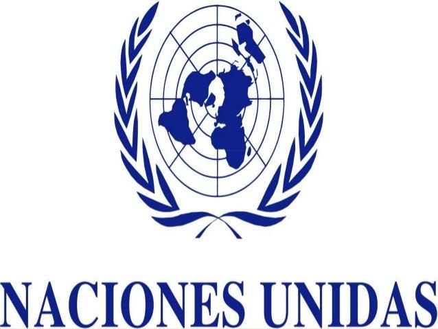 LAS NACIONES UNIDAS      Zoila Roncal M.