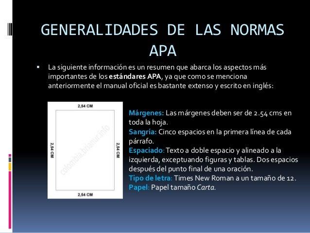EXPLICACIÓN NORMAS APA Slide 3
