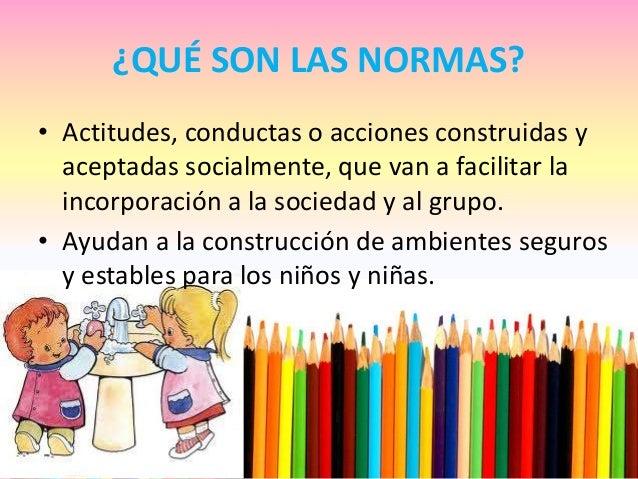 Las normas en el aula de infantil