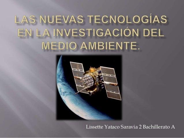 Lissette Yataco Saravia 2 Bachillerato A