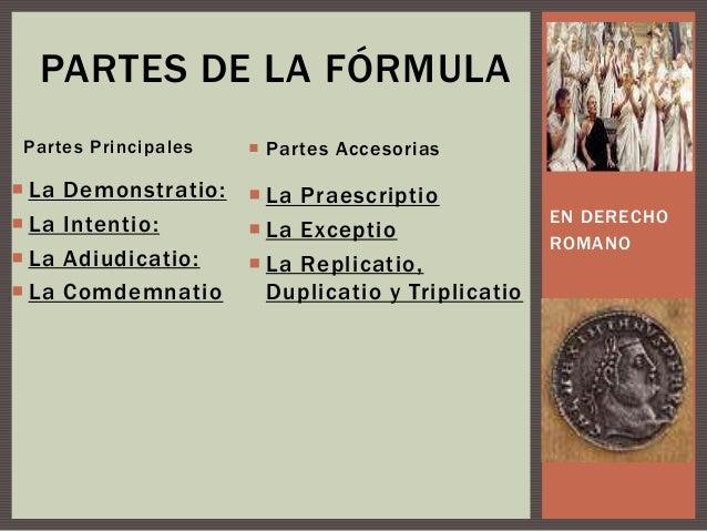 Formula Matrimonio Romano : Las obligaciones ciencias jurídicas y sociales