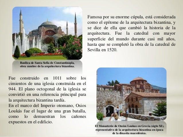 Obras mas importante de la arquitectura paleocristiana y bizantina Slide 3