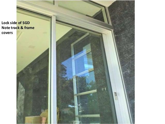 Lock side of SGDNote track \u0026 framecovers ...  sc 1 st  SlideShare & Fleetwood Sliding Glass Doors Ft Lauderdale