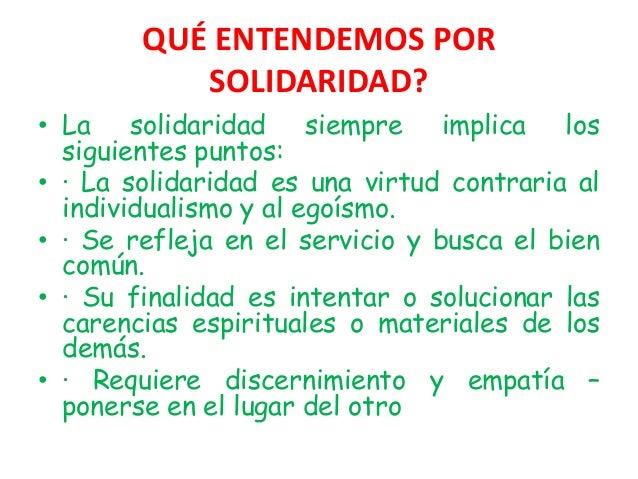 la solidaridad La red de solidaridad social jovesolides trabaja para consolidar procesos de  participación comunitaria, mediante la formación, innovación, emprendimiento.