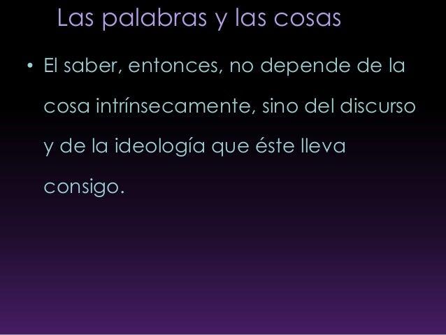 Las Palabras Y Las Cosas Michel Foucault