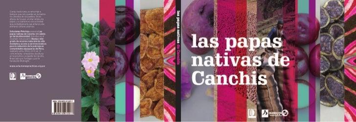 Las papas nativas de Canchis Un catálogo de biodiversidad