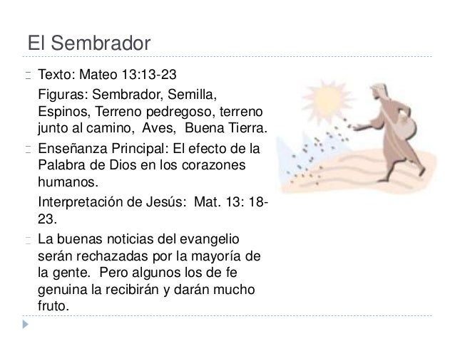 Resultado de imagen para Mateo 13,18-23