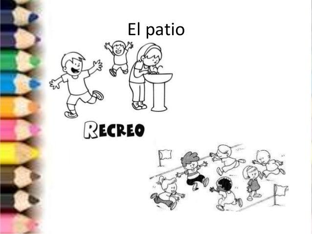 Las partes de la escuela for Dependencias de la escuela