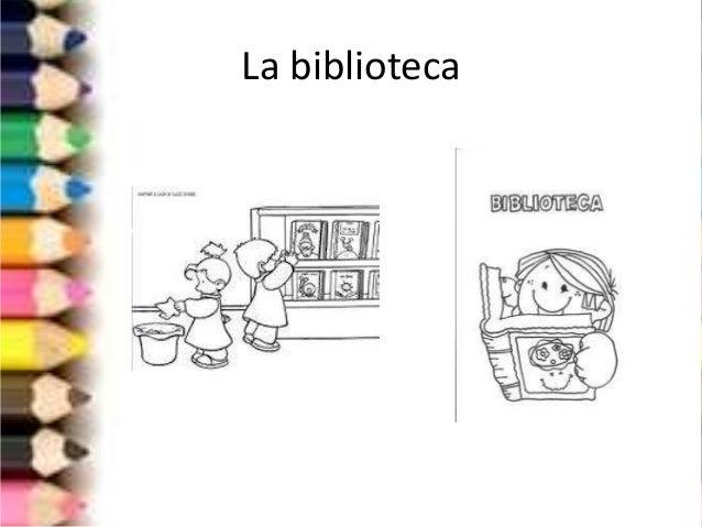 Las partes de la escuela for Partes de una biblioteca