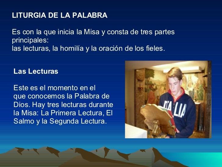 Resultado de imagen para SEGUNDA PARTE: LITURGIA DE LA PALABRA