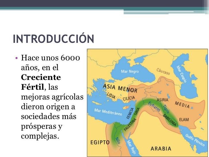 Las primeras civilizaciones: Mesopotamia y Egipto Slide 3