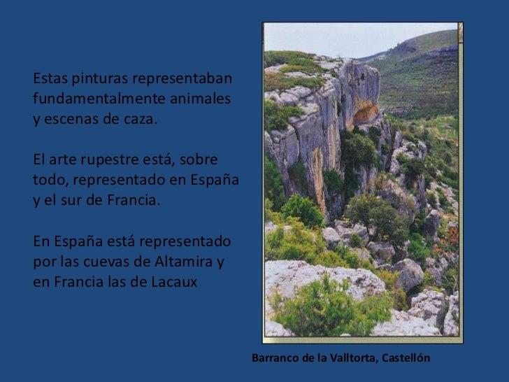 LA ZONA CANTÁBRICA está representada por la CUEVA DE ALTAMIRA:<br />CARACTERÍSTICAS más importantes:<br /><ul><li> las esc...