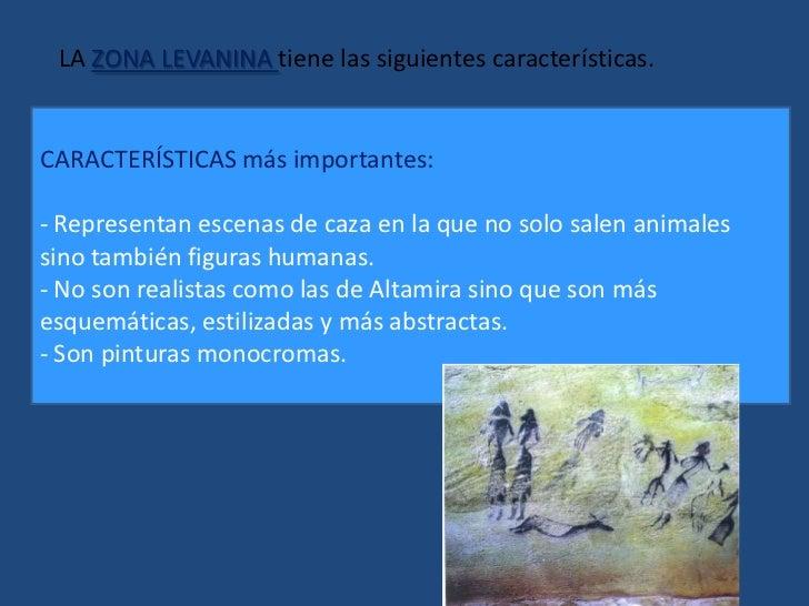 LA ZONA LEVANINA tiene las siguientes características. <br />CARACTERÍSTICAS más importantes:<br /><ul><li> Representan es...