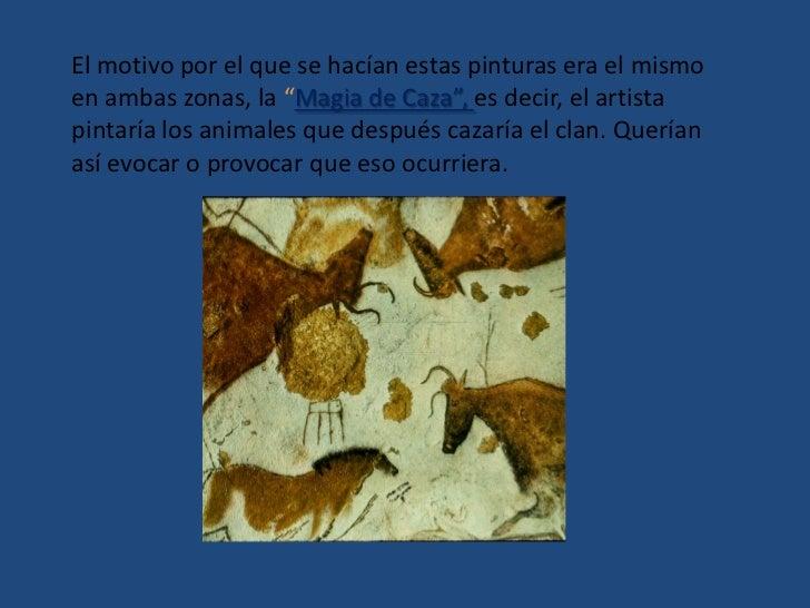 Tanto en Altamira como en el levante aparecen símbolos que no se sabe que pueden representar junto a otro motivo pictórico...