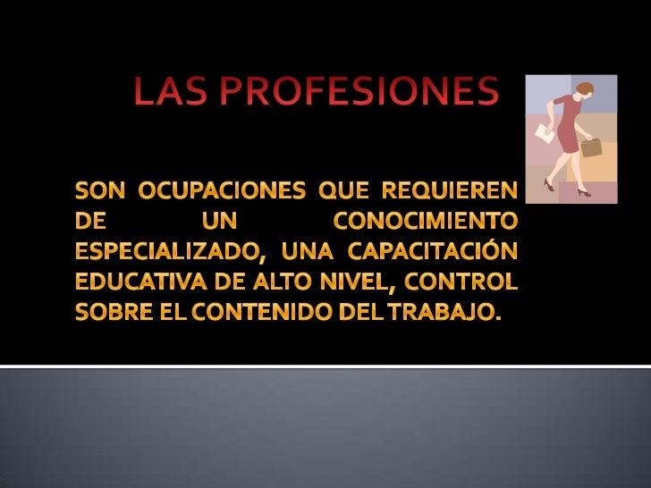    Es toda aquella persona que puede brindar un    servicio, garantizando el resultado con    calidad de excelencia.   P...
