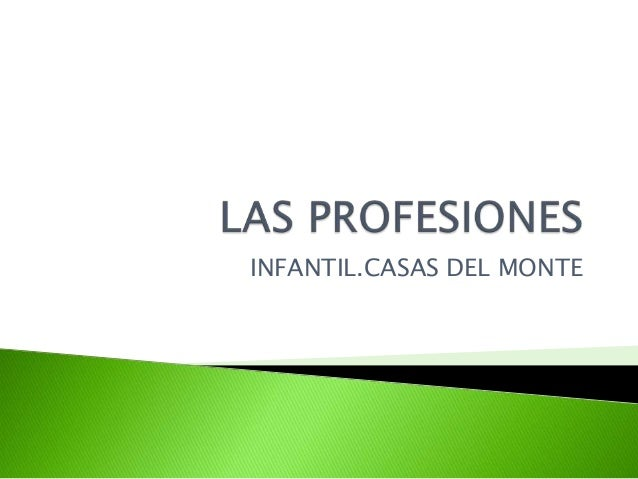 INFANTIL.CASAS DEL MONTE