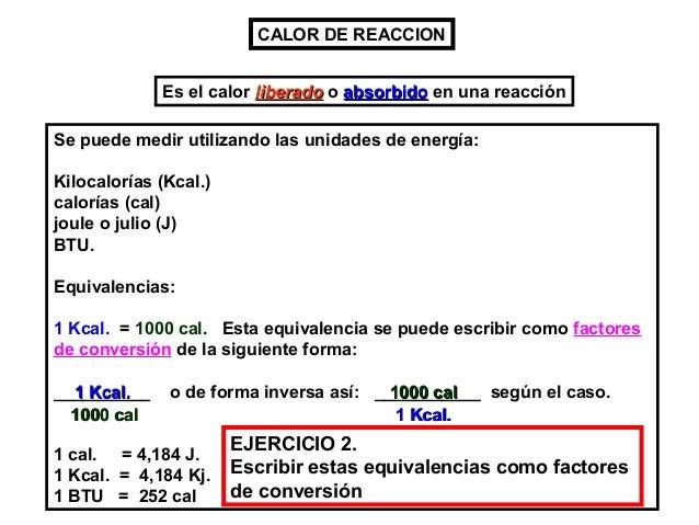 Las reacciones químicas y la energía. Slide 3