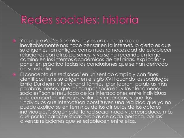 Las redes sociales Slide 2