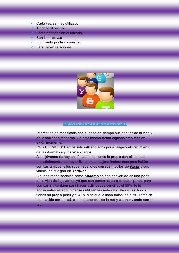 Las Redes Sociales Slide 3