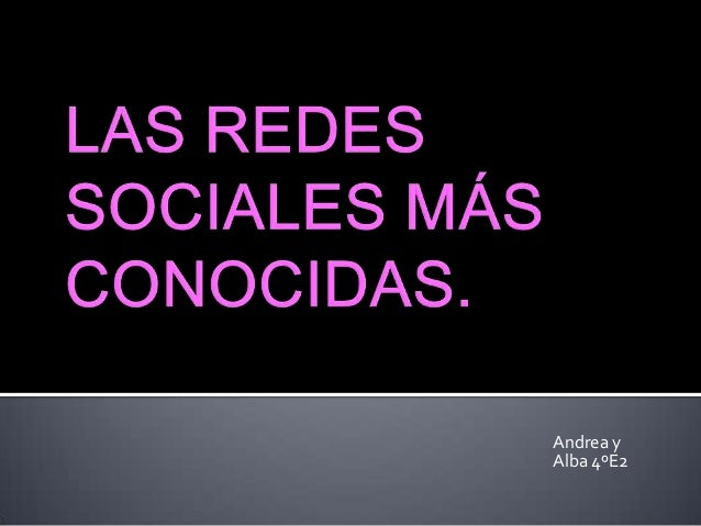 Andrea yAlba 4ºE2