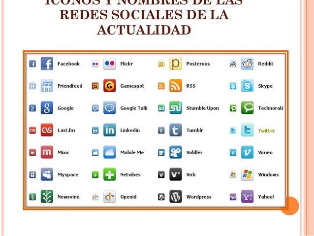 Sitio Del Día Picons Iconos De Redes Sociales Para: Las Redes Sociales: Características, Ventajas Y Desventajas
