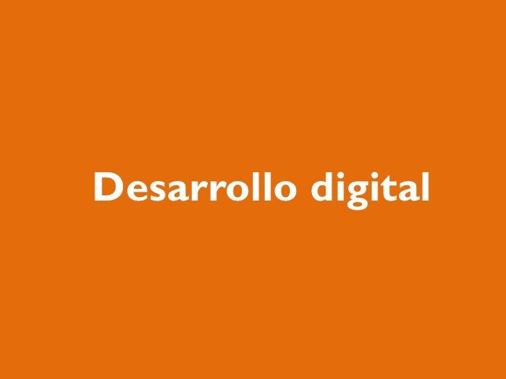 Desarrollo digital