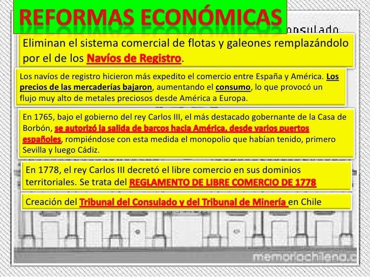 Las reformas de los borbones siglo xviii - Reformas economicas en madrid ...