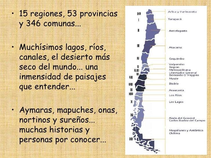 Regiones De Chile Y Sus - Fuzzbeed HD Gallery