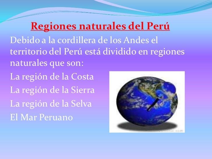 Las regiones naturales del per - Ambientadores naturales para la casa ...