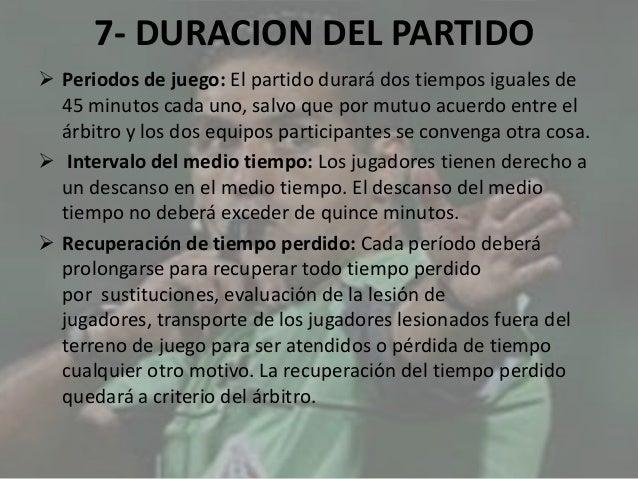 Las reglas del futbol for 10 reglas del futbol de salon