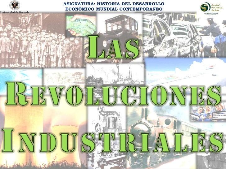 ASIGNATURA: HISTORIA DEL DESARROLLO ECONÓMICO MUNDIAL CONTEMPORANEO