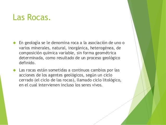 Las rocas Slide 2