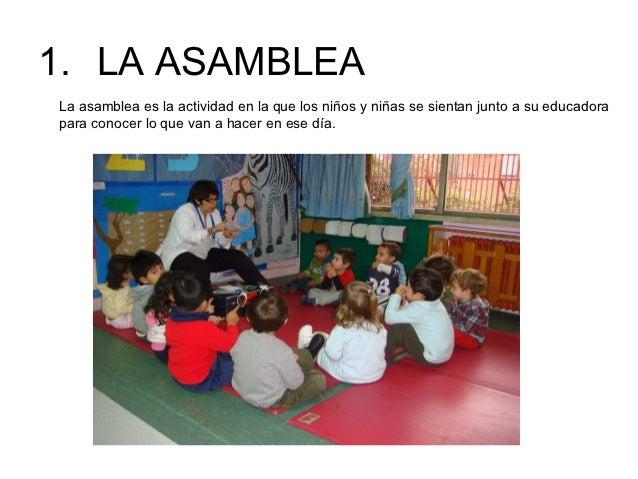 Las rutinas del aula de educaci n infantil for Que es jardin de infancia