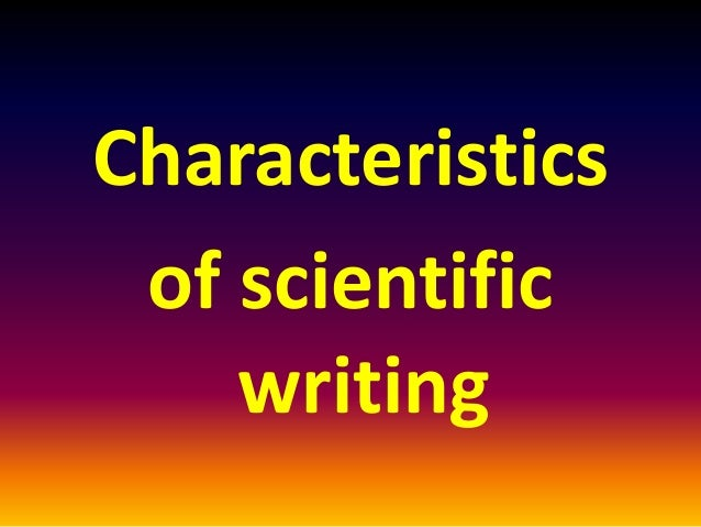 technical writing and its fundamental characteristics of extremism